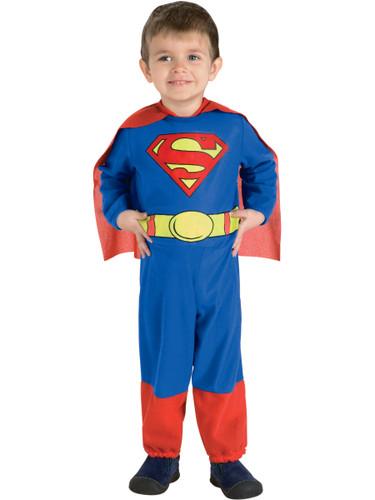 Child's Superman of Steel Costume Jumpsuit & Cape
