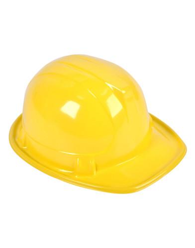 Adults New Plastic Costume Construction Hard Hat Helmet