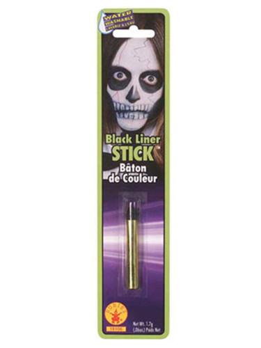 Black Halloween Costume Face Paint Makeup Crayon Stick