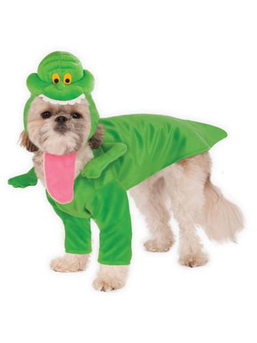 Ghostbusters Slimer Ectoplasm Ghost Pet Dog Costume