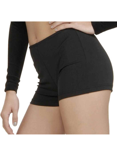 Adult Sexy Black Costume Hot Pants Boy Shorts