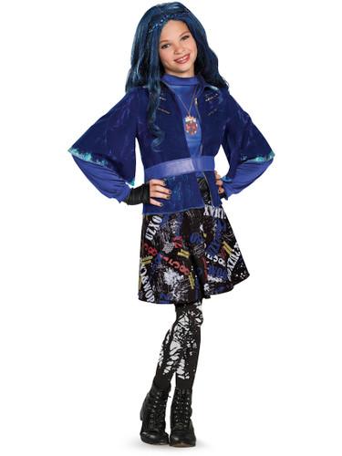 Girls Deluxe Evie Isle Of The Lost The Descendants Disney Costume
