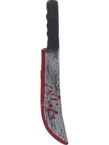Psycho Killer Costume Accessory Bloody Toy Machete Knife