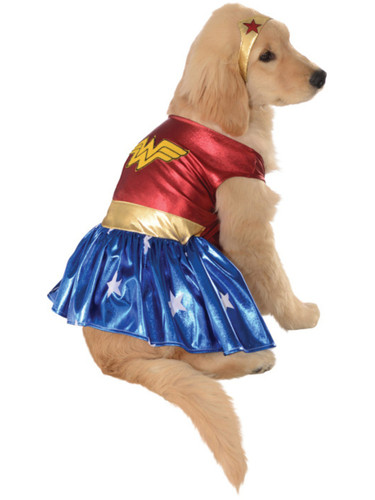 Wonder Woman Superhero Hero DC Comics Dog Pet Costumes