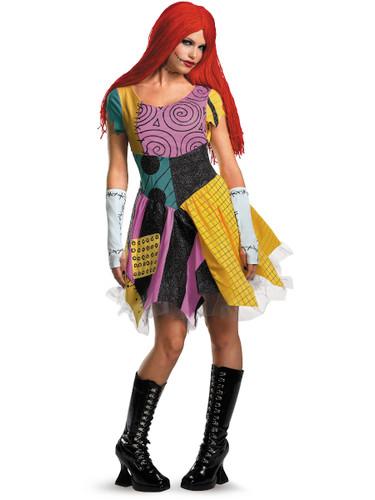 Adult's Sexy Nightmare Before Christmas Sally Costume