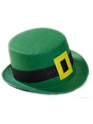 Adult's Green Felt St. Patrick's Day Leprechaun Hat Cosutme Accessory