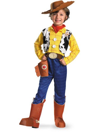Child S Deluxe Toy Story Woody Cowboy Costume