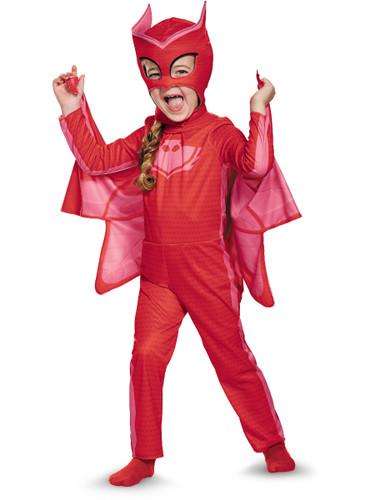 Child's Girls Classic Owlette PJ Masks Superhero Costume