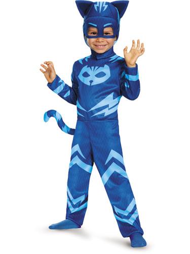 Child's Boys Classic Catboy PJ Masks Superhero Costume
