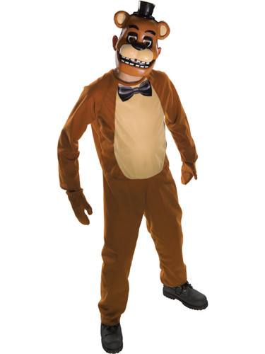 Child's Five Nights At Freddy's Freddy Bear Survival Horror Costume