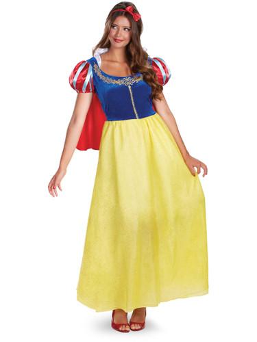 Womens Deluxe Disney Sexy Snow White Princess Costume