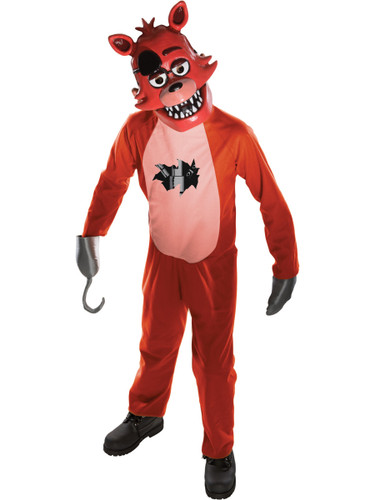 Child's Five Nights At Freddy's Foxy Fox Survival Horror Costume