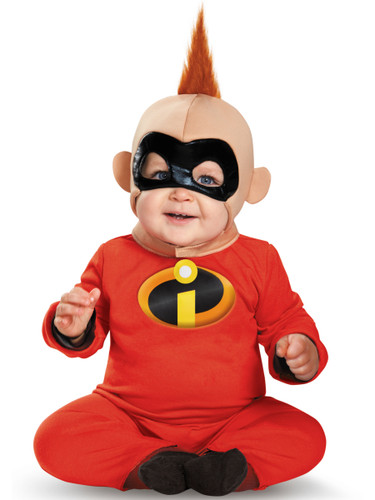 Kid's The Incredibles Baby Jack Deluxe Infant Costume