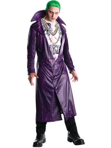 Adult's Mens Deluxe DC Comics Joker Suicide Squad Villain Costume