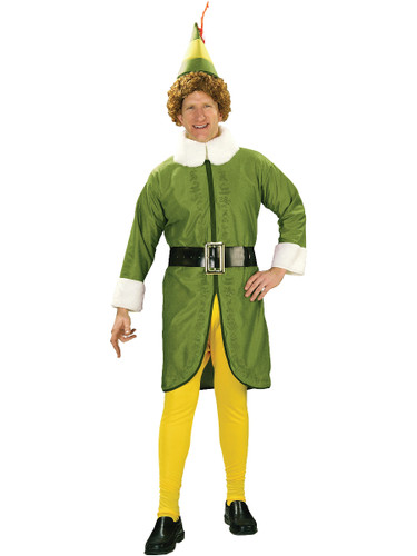Authentic Licensed Elf Movie Buddy Christmas Costume
