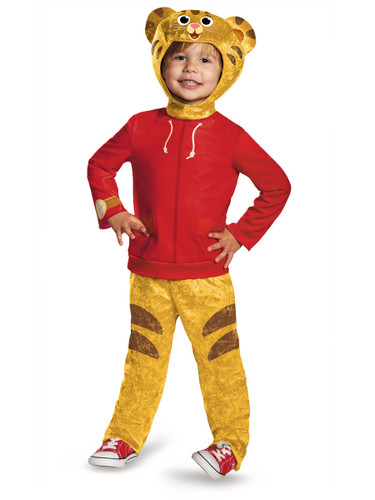 Childs Daniel Tiger's Neighborhood Classic Toddlers Costume