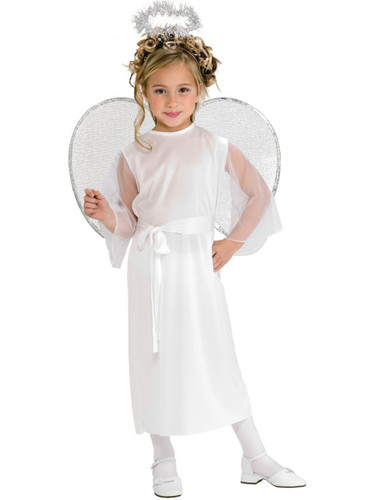 Girls Heavenly Angel Fairy Costume