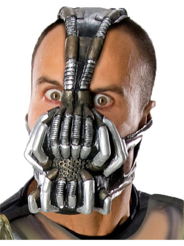 Adult Batman The Dark Knight Rises Bane Vinyl Costume Mask