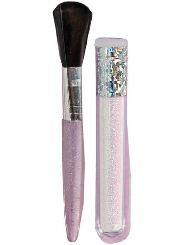 Women's Iridescent Body Glitter Dust With Brush Costume Accessory Make-Up