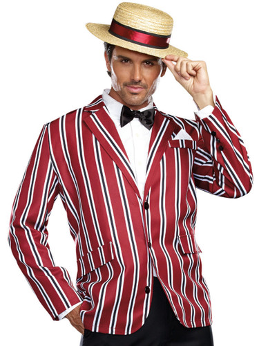 Adult's Mens 1920s Gangster Good Time Charlie Costume