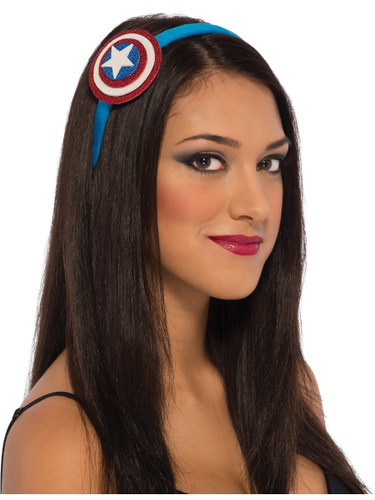 Womens American Dream Captain America Headband Costume Accessory
