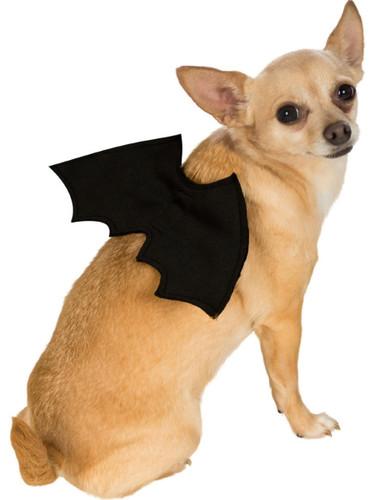 Classic Black Bat Wings Pet Dog Costume Accessory