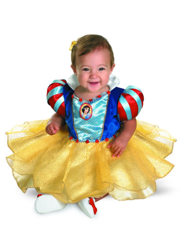Disney Princess Snow White Dress Baby Girls Costume Infant Childs 12-18M
