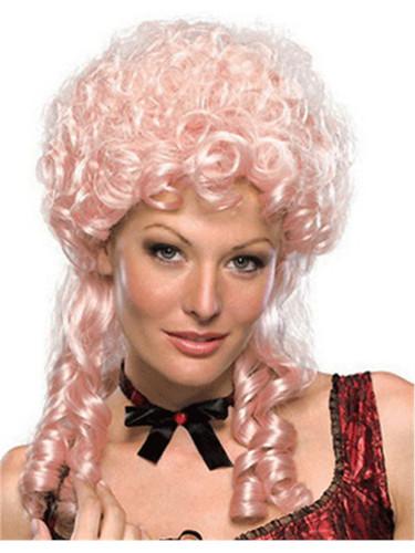 Women S Pink Victorian Marie Antoinette Wig