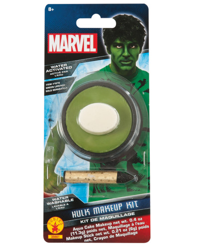 Men's Marvel Universe Hulk Body Paint Costume Accessory