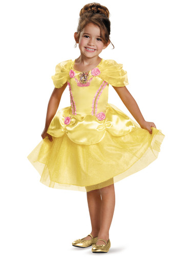 Belle Beauty And The Beast Disney Toddler Classic Toddlers Costume Dress