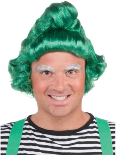 Mens or Womens Green Costume Umpa Lumpa St Patricks Day Elf Wigs