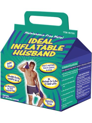 Bachelorette Party Gag Gift Ideal Inflatable Faithful Husband Decoration