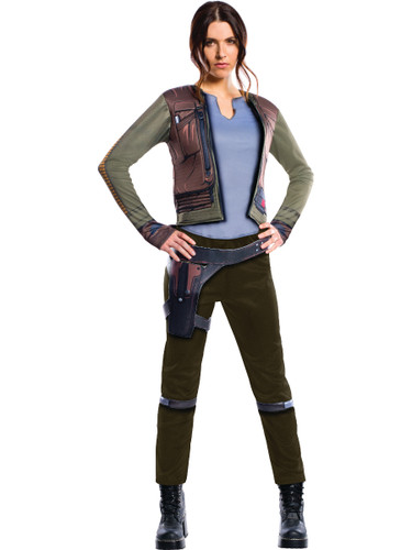 Adult's Womens Deluxe Star Wars Rogue One Jyn Erso Rebellion Rebel Costume