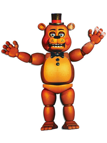 """35"""" Jointed Posable Five Nights At Freddy's Freddy Fazbear Prop Decoration"""