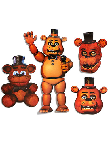 Five Nights At Freddy's Survival Horror Freddy Fazbear Props Decorations