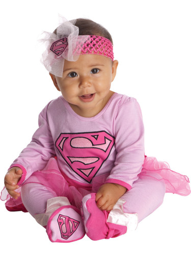 New Childs Super Girl Baby Costume