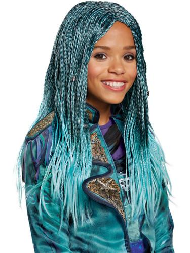 Child's Girls Disney Descendants 2 Uma Isle Look Wig Costume Accessory