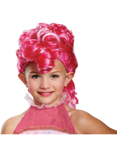 Child's Girls My Little Pony The Movie Pinkie Pie Wig Costume Accessory