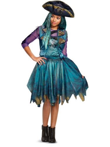 Child's Girls Classic Disney Descendants 2 Isle Look Uma Costume