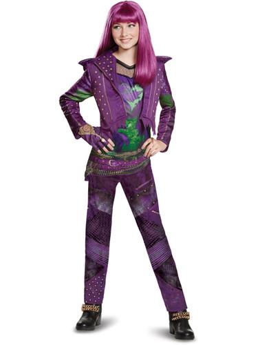Child's Girls Deluxe Disney Descendants 2 Isle Look Mal Costume