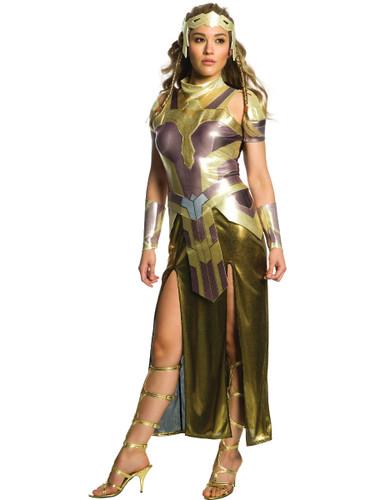 Womens Deluxe Wonder Woman Queen Hippolyta Dress Costume