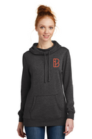 Branchline Church Women's Cowl Neck Lightweight Fleece Hoodie
