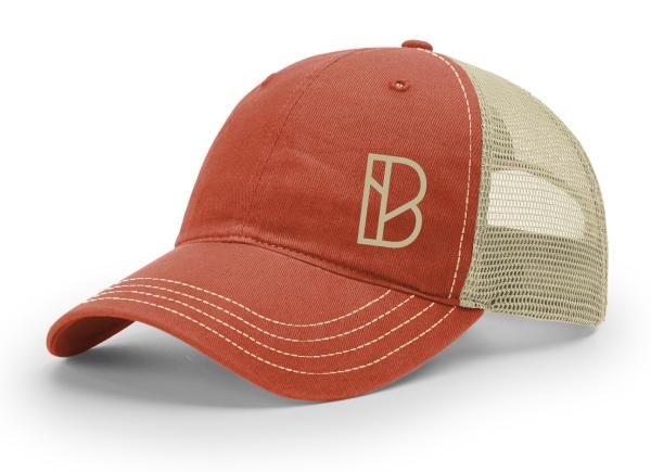b553e6895b934 Branchline Church Garment Washed Trucker Hat - OrderTeamGear.com by ...