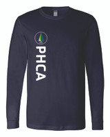 PHCA Middle School Adult Ringspun Long Sleeve Tee