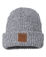The Busted Nut Chunky Knit Cap - Grey