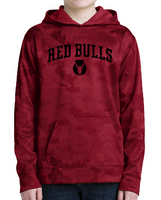 Red Bulls Youth Performance CamoHex Hooded Sweatshirt
