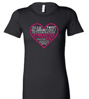 2019 JV Conference Gymnastics Ladies Tee