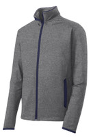 Sport-Tek® Sport-Wick® Stretch Contrast Full-Zip Jacket