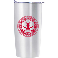 Limited Edition Red Bulls Task Force Spartan Stainless Sasquatch Tumbler FREE SHIPPING