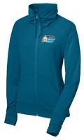 City of Hastings Ladies Wicking Stretch Full Zip Jacket